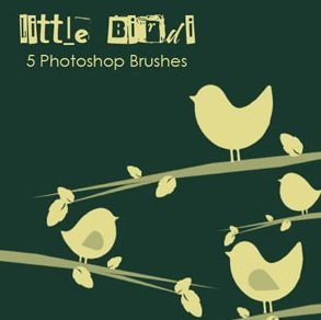 Photoshop Brushes - Little Birdi :: Кисти для Photoshop.